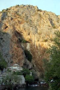 Derwischkloster und Bunaquelle bei Mostar